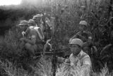 Yan'an (China), Eighth Route Army soldiers in position on front line