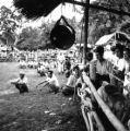 Pattani province (Thailand), spectators at a bull fight
