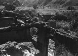 Yan'an (China), village burned by Japanese