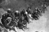 Yan'an (China), Japanese puppet soldiers captured at strong point