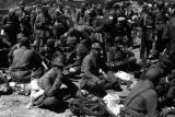 Yanan (China), Eighth Route Army soldiers taking break to rest