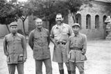 Yan'an (China), Harrison Forman, General He Long, and Eighth Route Army captains
