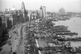 Shanghai (China), one of several views of the British-controlled area, the Bund