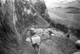 Yan'an (China), Eighth Route Army soldiers walking path