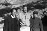 Yanan (China), Mao Zedong, Peng Dehuai, and American military officer