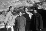 Yanan (China), Mao Zedong, Peng Dehuai and American military officers