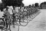 Shaanxi province (China), Chinese Red Army bicycle troops