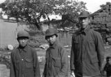Shaanxi province (China), members of Chinese Red Army propaganda corps