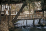 Syria, bridge over Barada river