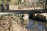 Syria, road crossing over the Barada river