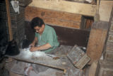 Damascus (Syria), craftsman working with stone