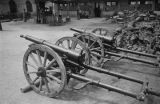 China, close-up of field cannons