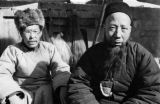 Xinjiang Uygur Zizhiqu (China), portrait of Muslim men in Northwest China