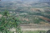 Syria, panoramic view of the countryside
