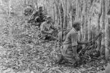 Malaysia, Gurkha troopers in jungle during Malayan Emergency