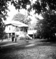 Chanthaburi Changwat (Thailand), yard of house