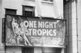 Hong Kong (China), movie poster for One Night in the Tropics