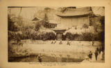 Seoul (Korea), Juhamnu pavilion in front of Buyongji pond in Changdok palace
