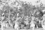 Singapore, Punjab Regiment performing Khattak war dance