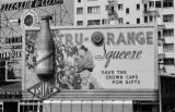 Manila (Philippines), billboard advertisement for Tru-Orange drink