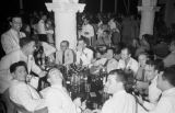 Singapore, American Volunteer Group 'Flying Tigers' pilots in a night club