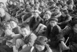 Changde (China), refugees await assistance at assembly after the Battle of Changde