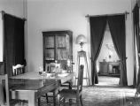 Tehran (Iran), dining room of Frederick G. Clapp residence