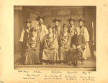 South Korea, Prince Min Yong Ik, diplomats, and naval officer