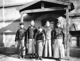 Tianjin (China), group portrait of Chinese men at Frederick G. Clapp residence