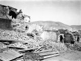 Damascus (Syria), ruins of buildings after bombardment by France