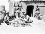 Marv Dasht (Iran), Frederick G. Clapp's traveling party having lunch