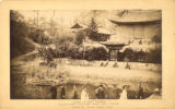 South Korea, Juhamnu pavilion in front of Buyongji pond in Changdok palace in Seoul