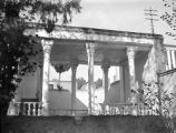 Tehran (Iran), colonnade at the Frederick G. Clapp residence