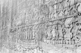 Cambodia, Bayon Temple bas-relief at Angkor Thom