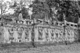 Cambodia, Royal Terraces bas-relief at Angkor Thom
