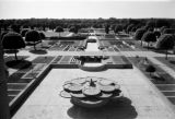 India, Mughal Gardens at Rashtrapati Bhavan in New Delhi