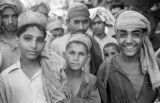 Pakistan, group of boys in Peshāwar