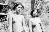 Philippines, tattooed Igorot women on northern Luzon island