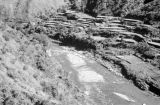 Philippines, stream along rice terraces on northern Luzon island
