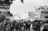 Pakistan, crowded marketplace in Peshāwar