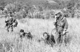 Vietnam, French Navy Commandos sweeping island in Ha Long Bay for Viet Minh