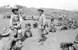 Vietnam, Vietnamese troopers awaiting airlift during First Indochina War