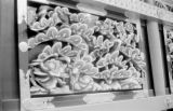 Japan, decorative carvings at Toshogu Mausoleum in Nikko