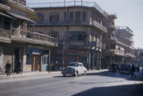 Baghdad (Iraq), view of city street