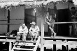 Vietnam, German legionnaires quartered in schoolhouse during First Indochina War