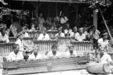 Indonesia, orchestra at dance performance in Bali