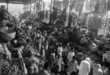 India, busy Mahatma Jyotiba Phule (or Crawford) Market in Mumbai