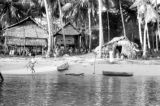 Indonesia, stilt houses along shore of Flores Island, Ruteng