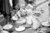 Indonesia, women selling goods at Banjarmasin market