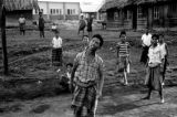 Indonesia, village boys gathered in Ruteng